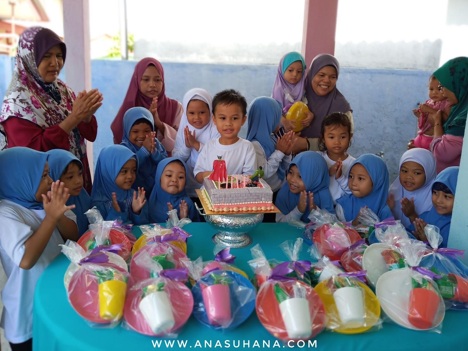 Meriahnya Sambutan Harijadi Syafi Di Sekolah