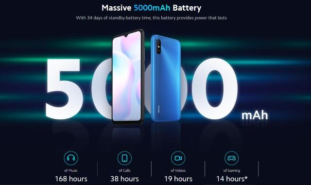 Redmi 9A Battery Performance