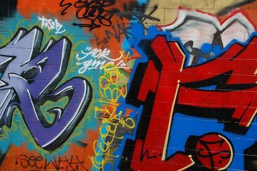 Graffiti in the ghetto