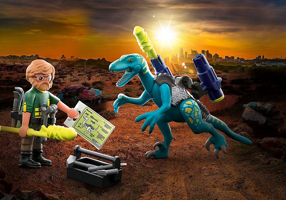 Playmobil Dino Rise Triceratopo Deynonichus Uncle Rob