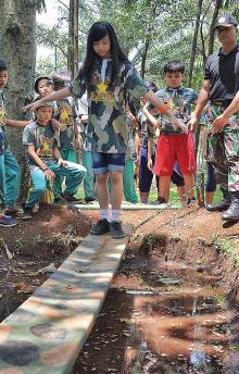kids army taman budaya
