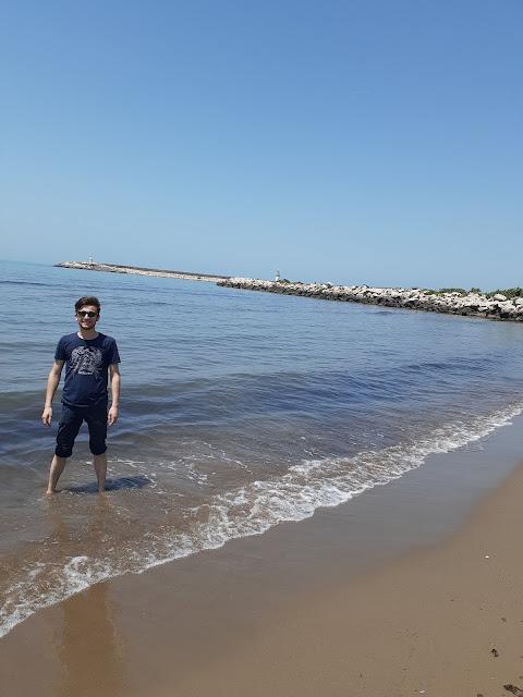 Harun İstenci Kastamonu Cide sahilinde. - Haziran 2019