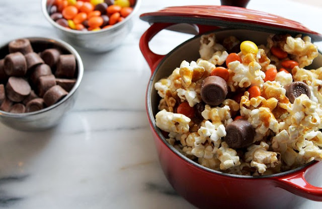 Harvest Caramel Corn #desserts #party