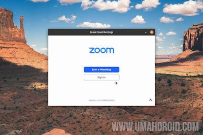 Cara Install Zoom Ubuntu