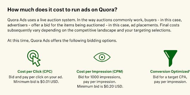 شرح إعلانات Quora Ads : طريقة انشاء حملة اعلانية على موقع كورة 2021