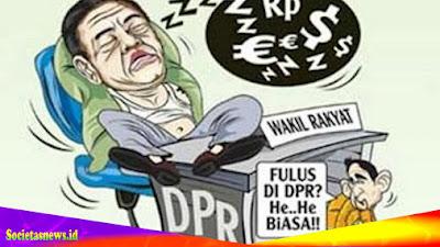 MENYOAL ANGGOTA DPRD MABAR 'YANG MALAS (TIDAK HADIR?) IKUT SIDANG