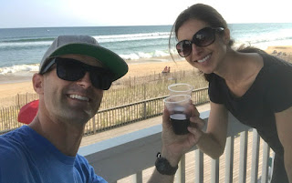 Benjamin Nielsen clicking selfie with his wife Ana Cabrera