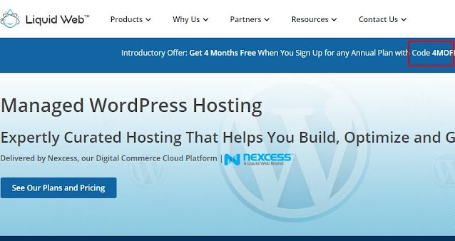 Liquid web promo code for web hosting discount