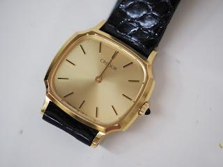 古いクレドールの腕時計をお買い取り致しました