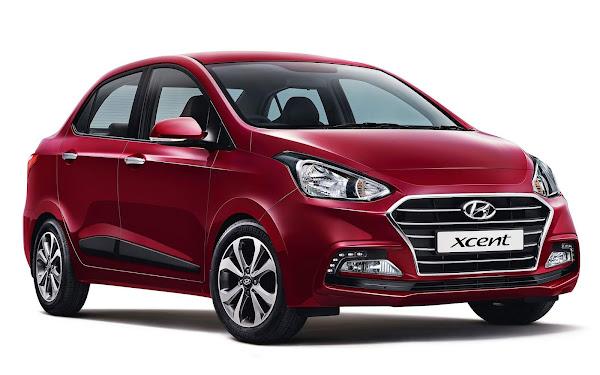 Novo Hyundai Xcent 2022