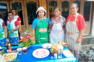 memperingati hari peringatan Hut RI 74 KT Pratama mengadakan lomba masak antar RT
