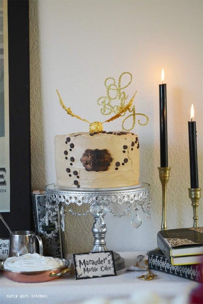 Harry Potter Cake, Harry Potter Party, Marauders Map Cake, Treacle Tart, Hogsmeade, Stag Patronus, Harry Potter Desserts