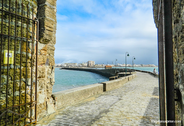 Fortaleza de San Sebastián ePaseo Fernando Quiñones, Cádiz