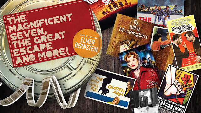 The best of Elmer Bernstein, The Magnificent Seven, The Great Escape And More!
