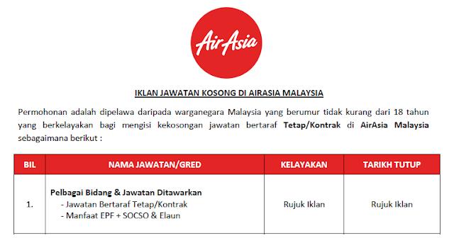 airasia jobs