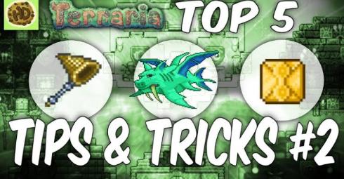 Terraria 1.3 Top Tips & Tricks #2  1.3 Tutorial Glitch Terraria Guide