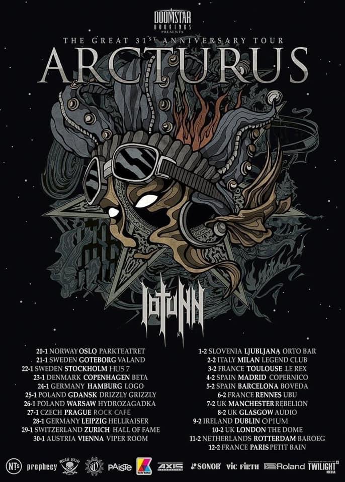 arcturus tour