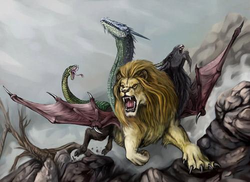 singa bersayap