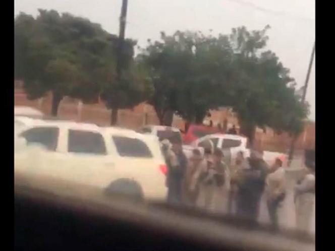 Video; En Tocumbo, Michoacán, reportan balaceras e incluso hay un retén del CJNG
