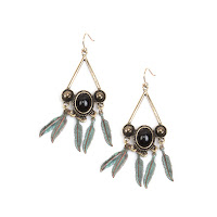 Fun and fashionable dangling earrings