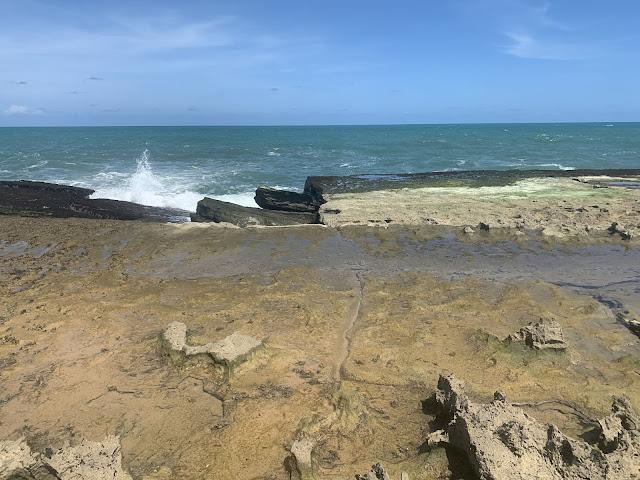 falesias do mar