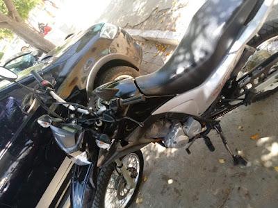 Mulher natural de Acopiara-CE tem moto tomada em assalto na cidade de Iguatu-CE