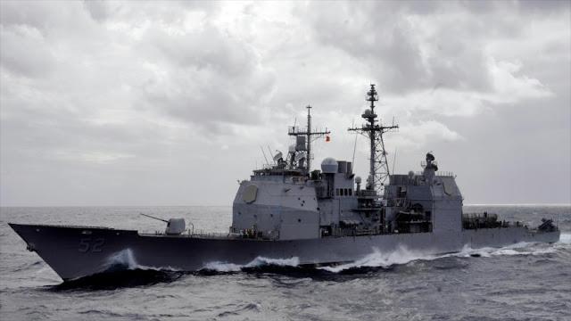 Naves de EEUU en mar del Sur de China en medio de tensiones