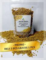 Methi Seeds / Pembesar Payudara dan pelangsing alami