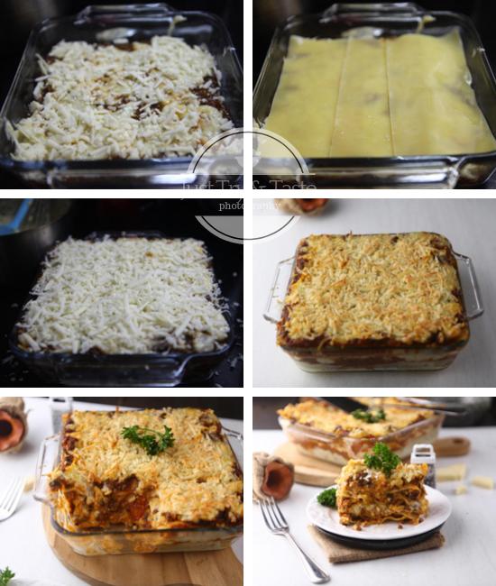 Resep Lasagna Bolognese JTT