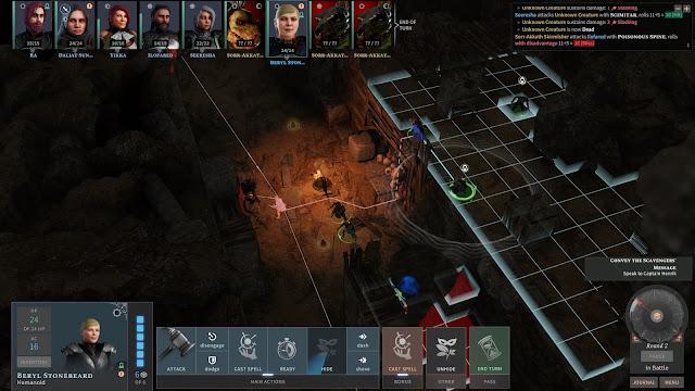 Combate Análisis de Solasta Crown of Magister para PC