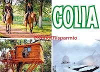 Logo Golia 2019: vinci viaggio da 10.000€ ( lo scegli tu): anticipazione
