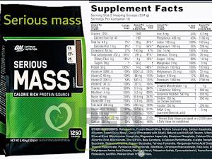 السيرياس ماس لاكتساب الوزن والحجم العضلي المطلوب بسرعة- اوبن كلينيك