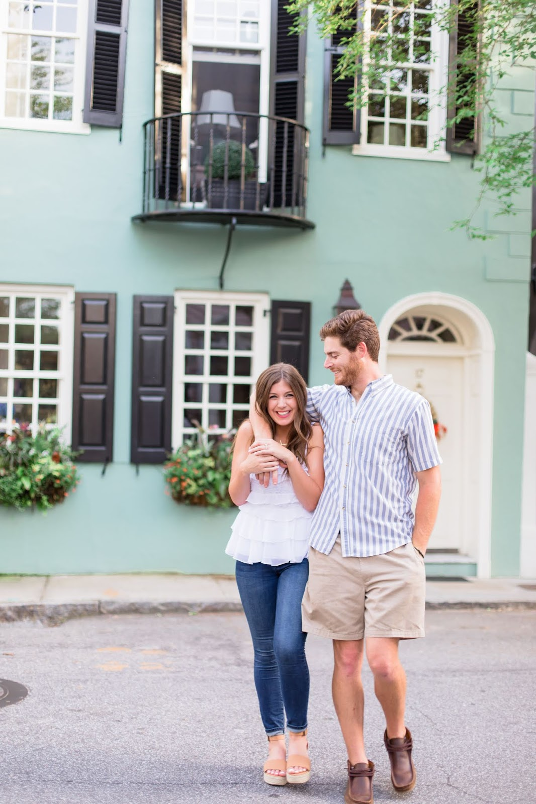 Our Downtown Charleston, SC Engagement Photoshoot - Chasing Cinderella