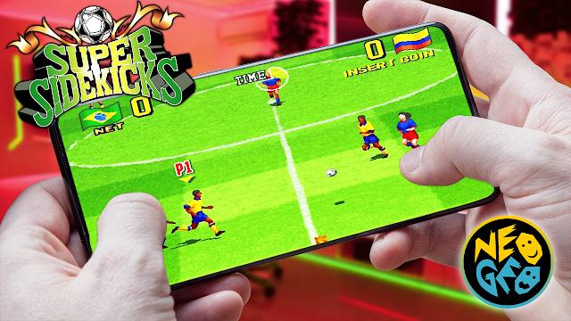 Super Sidekicks Para Teléfonos Android (ROM NEOGEO)