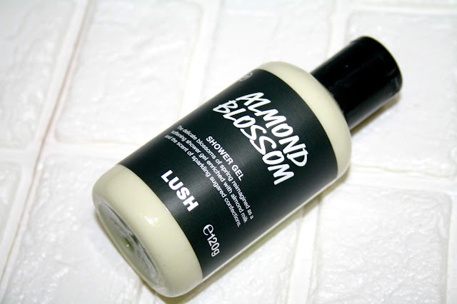 Lush Almond Blossom Shower Gel