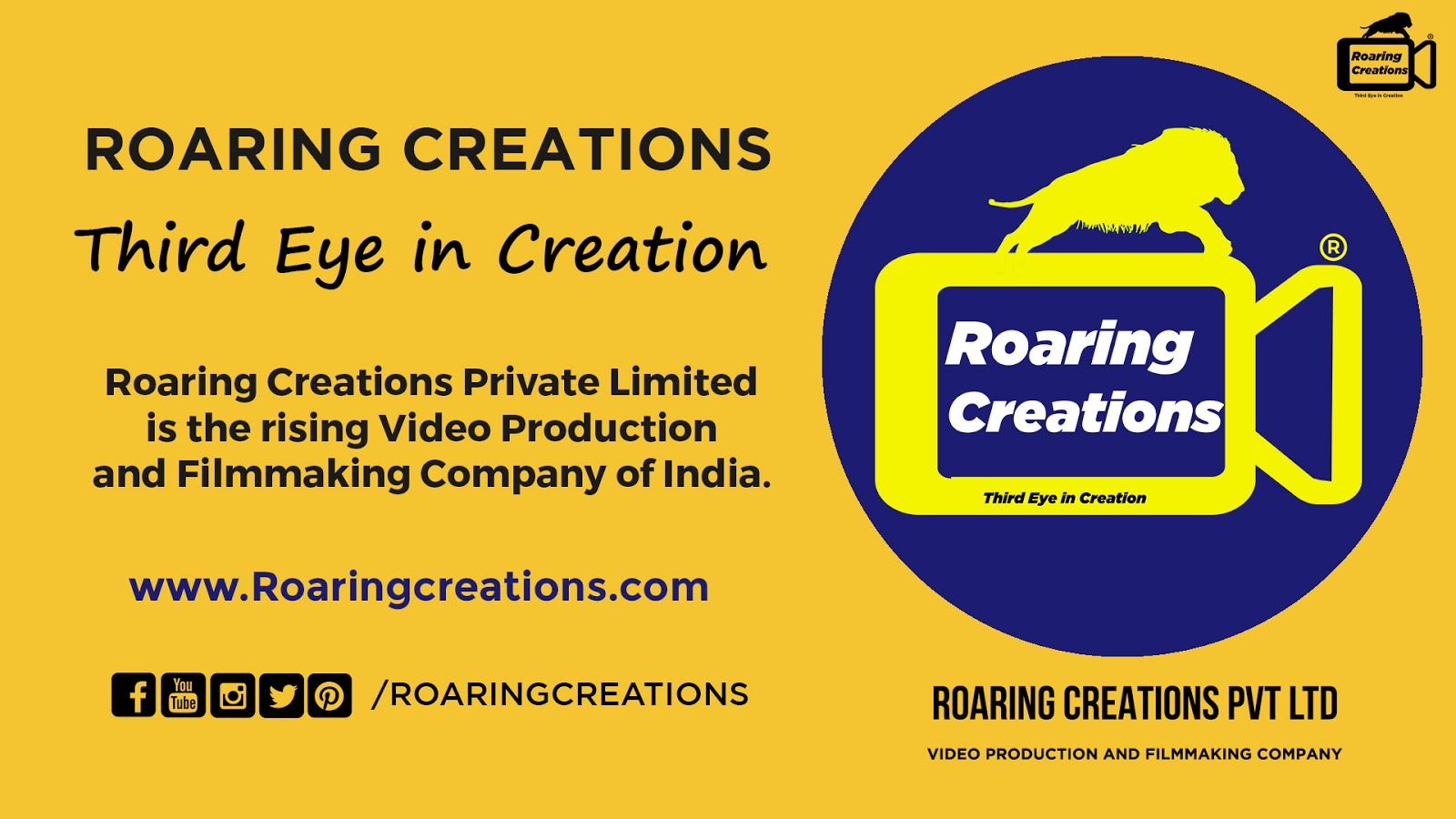 Roaring Creations - Third Eye in Creation®