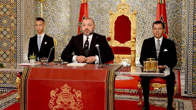 Morocco's monarch, King Mohammed VI pardons detainees, including some Hoceima protesters