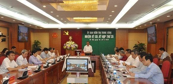 Ủy ban Kiểm tra Trung ương kết luận tội danh mới cho ông Đinh La Thăng liên quan đến Nguyên Phó Thủ tướng Vũ Văn Ninh