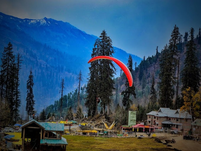 Solang Valley Paragliding