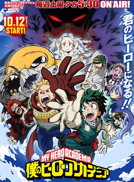 "cuarta temporada de ""Boku no Hero Academia""."
