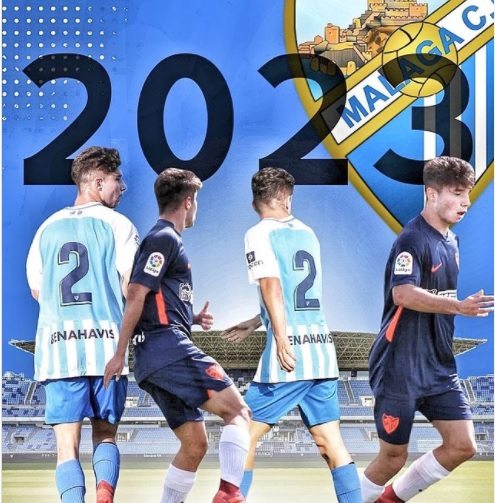 Oficial: El Málaga renueva a Antoñito hasta 2023