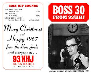 KHJ Boss 30 No. 77 - Johnny Williams