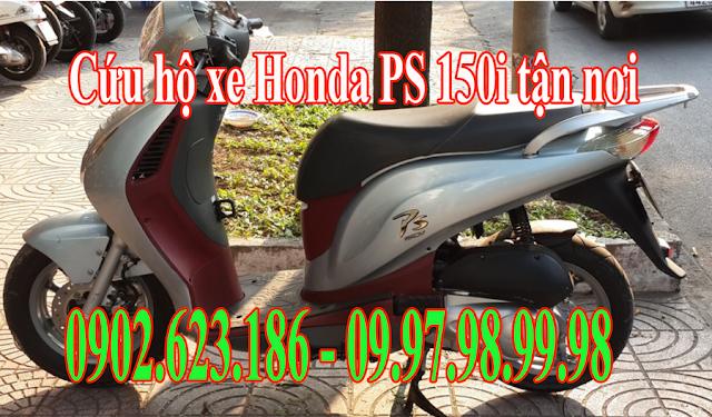 Cứu hộ xe máy Honda PS 150i tận nơi tại TpHCM - Gọi 0902623186 để sửa chữa