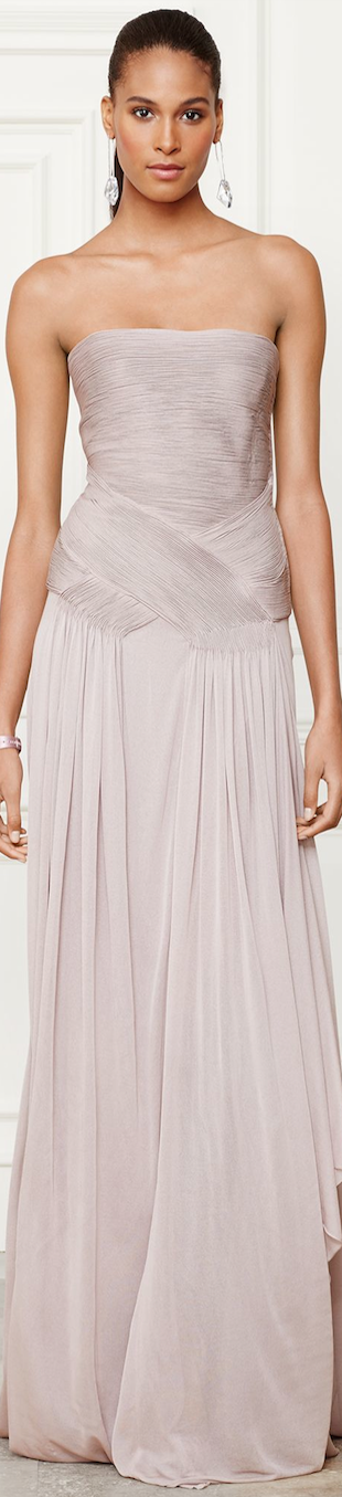 Ralph Lauren Francina Evening Gown Fall 2014 Collection