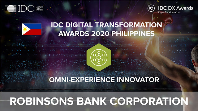 Robinsons Bank wins Omni-Experience Innovator Award for RBank Sign Up