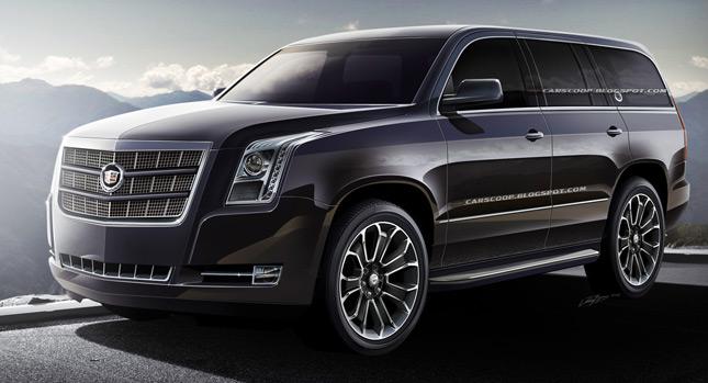 Future Cars: GM's Upcoming 2014 Cadillac Escalade Luxury ...