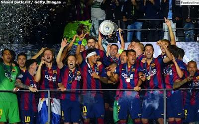 عدد ألقاب برشلونة في دوري أبطال أوروبا