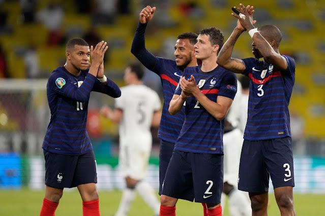 France beat Germany at Euro 2020