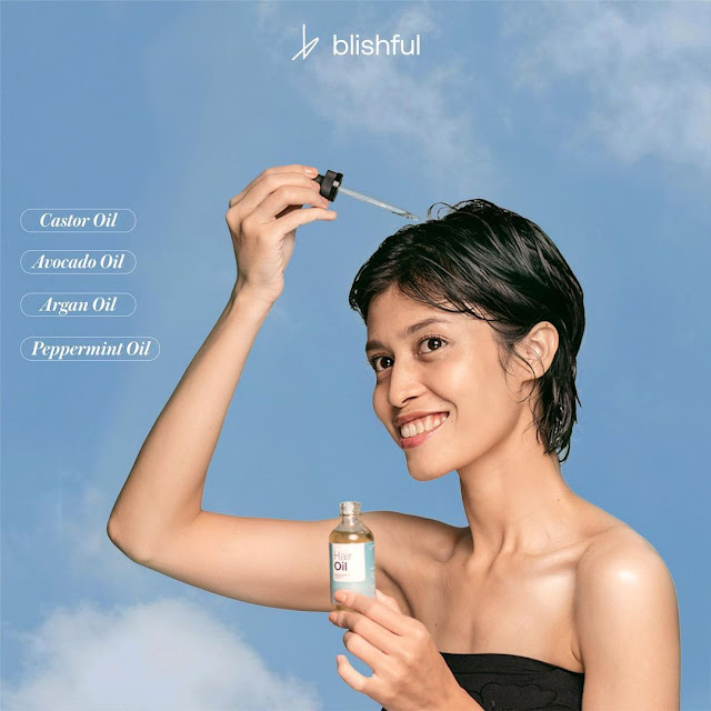 Blishful Keratin Hair Oil