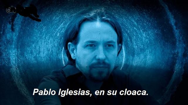 Echenique, la rata peluda de las cloacas de Pablo Iglesias